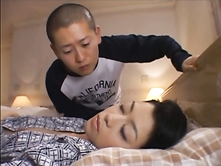 Horny asian guy licked his friend